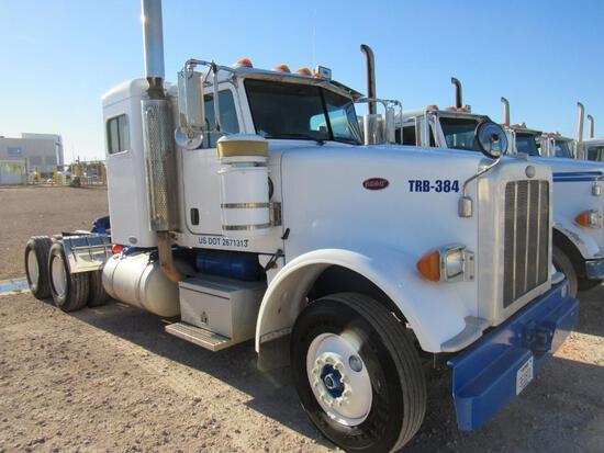 2009...Peterbilt 367 T/A Sleeper Compressor Truck Road Tractor (Unit #TRB-384)