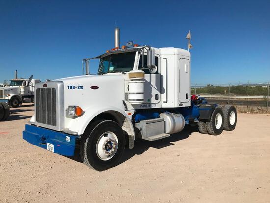 2008...Peterbilt 367 T/A Sleeper Compressor...Truck Road Tractor (Unit #TRB-216)