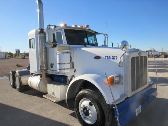 2008 Peterbilt 367 T/A Sleeper Compressor Truck Road Tractor (Unit #TRB-372)