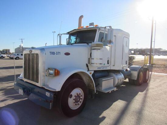 2008 Peterbilt 367 T/A Sleeper Compressor Truck Road Tractor (Unit #TRB-371)