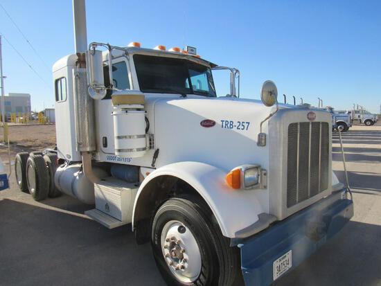 2008...Peterbilt 367 T/A Sleeper Compressor Truck Road Tractor (Unit #TRB-257)