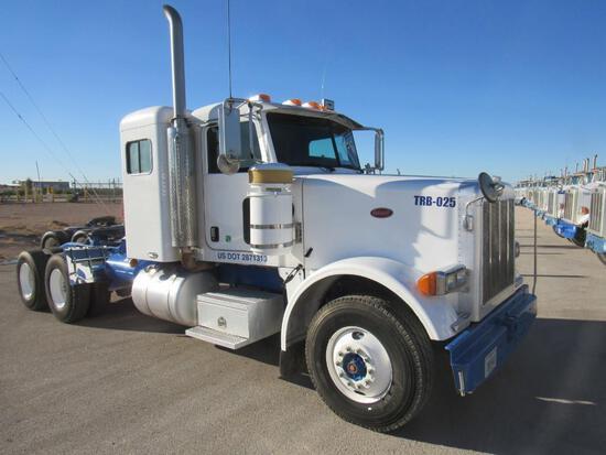 2007...Peterbilt 367 T/A Sleeper Compressor Truck Road Tractor (Unit #TRB-025)