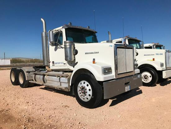 2013 Western Star 4900SF T/A Sleeper Truck Road Tractor (Unit #TRB-003) (INOPERABLE)