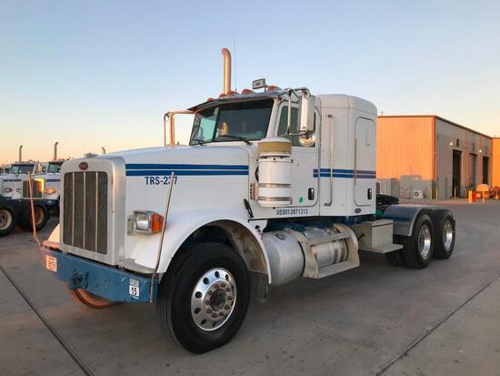 2011...Peterbilt 367 T/A Sleeper Road Tractor (Unit #TRS-237)