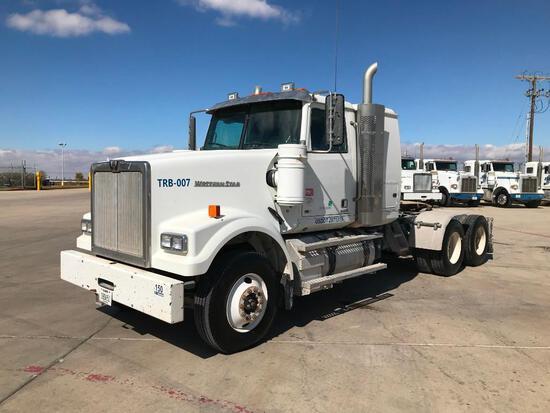 2014 Western Star 4900SF T/A Sleeper Blower Truck Road Tractor (Unit #TRB-007)