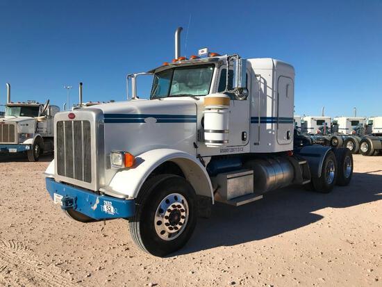 2013 Peterbilt 367 T/A Sleeper Hydraulic Truck Road Tractor (Unit #TRH-1532)