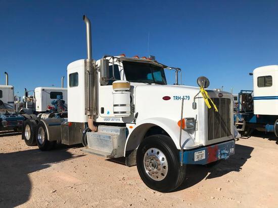 2013 Peterbilt 367 T/A Sleeper Hydraulic Truck Road Tractor (Unit #TRH-579)