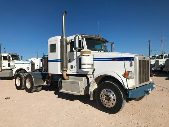 2013 Peterbilt 367 T/A Sleeper Hydraulic Truck Road Tractor (Unit #TRH-1529)