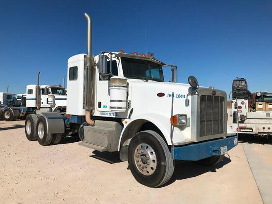 2013 Peterbilt 367 T/A Sleeper Hydraulic Truck Road Tractor (Unit #TRH-1044)