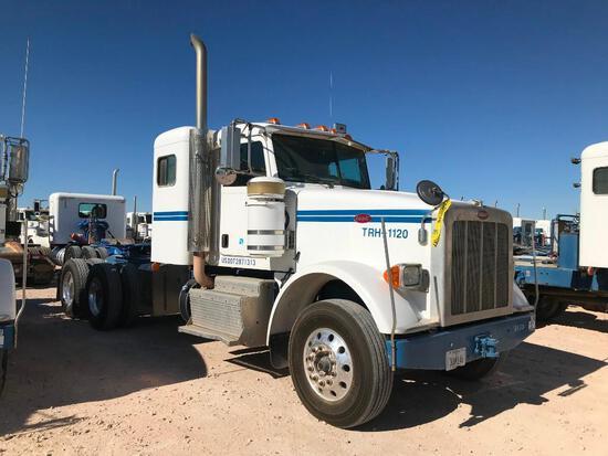 2013 Peterbilt 367 T/A Sleeper Hydraulic Truck Road Tractor (Unit #TRH-1120)