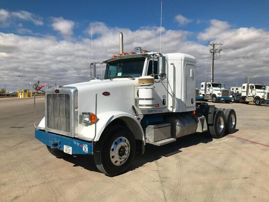 2013 Peterbilt 367 T/A Sleeper Hydraulic Truck Road Tractor (Unit #TRH-787)