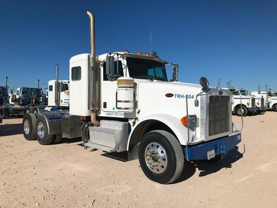 2013 Peterbilt 367 T/A Sleeper Hydraulic Truck Road Tractor (Unit #TRH-804)