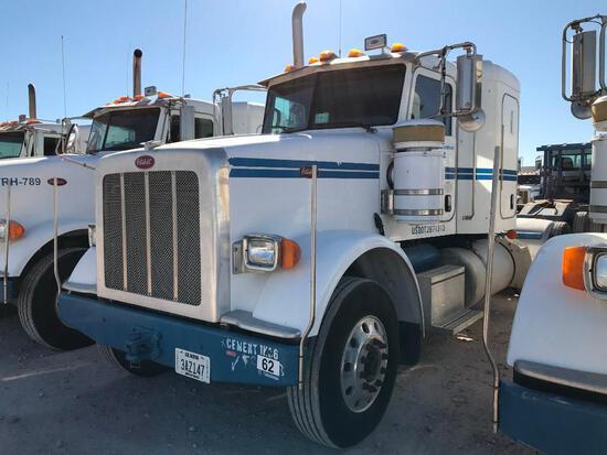 2013 Peterbilt 367 T/A Sleeper Hydraulic Truck Road Tractor (Unit #TRH-923)