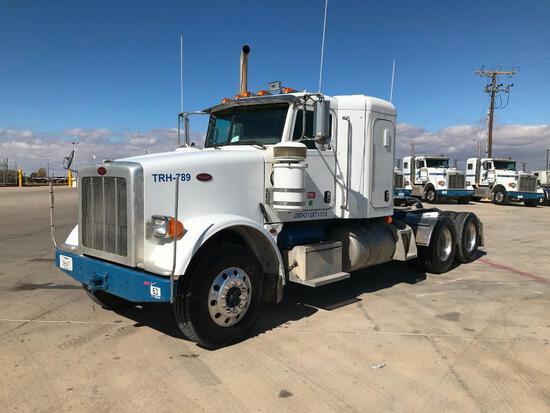 2013 Peterbilt 367 T/A Sleeper Hydraulic Truck Road Tractor (Unit #TRH-789)