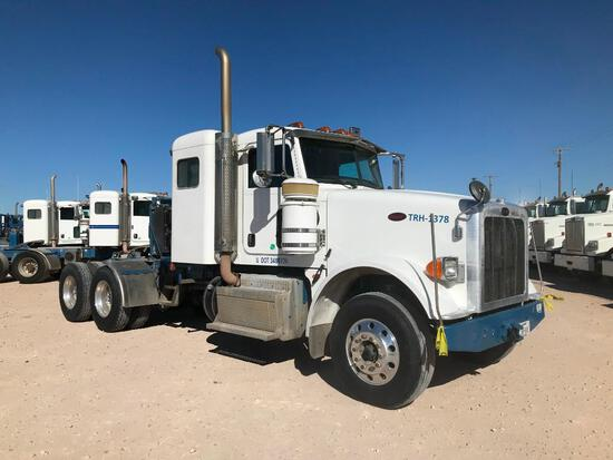 2013 Peterbilt 367 T/A Sleeper Hydraulic Truck Road Tractor (Unit #TRH-1378)