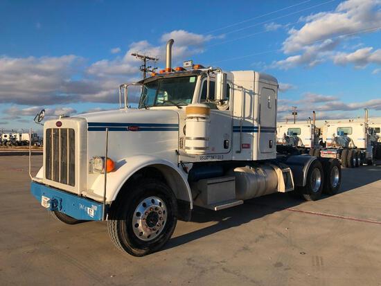 2012...Peterbilt 367 T/A Sleeper Hydraulic Truck Road Tractor (Unit #TRH-1177)