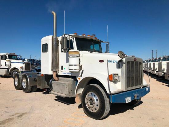2012...Peterbilt 367 T/A Sleeper Hydraulic Truck Road Tractor (Unit #TRH-679)
