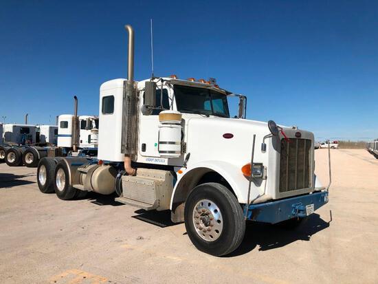 2012...Peterbilt 367 T/A Sleeper Hydraulic Truck Road Tractor (Unit #TRH-1181)