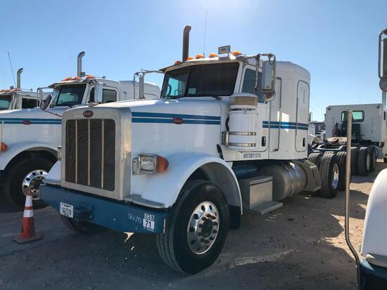 2013 Peterbilt 367 T/A Sleeper Hydraulic Truck Road Tractor (Unit #TRH-893)