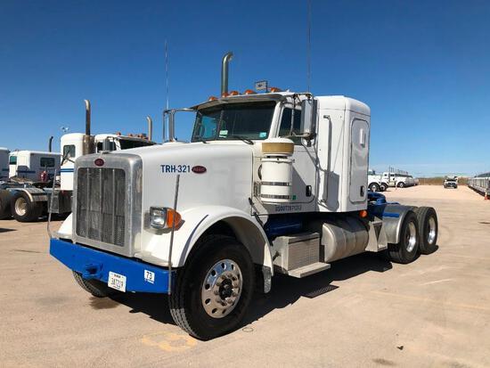 2012...Peterbilt 367 T/A Sleeper Hydraulic Truck Road Tractor (Unit #TRH-321)