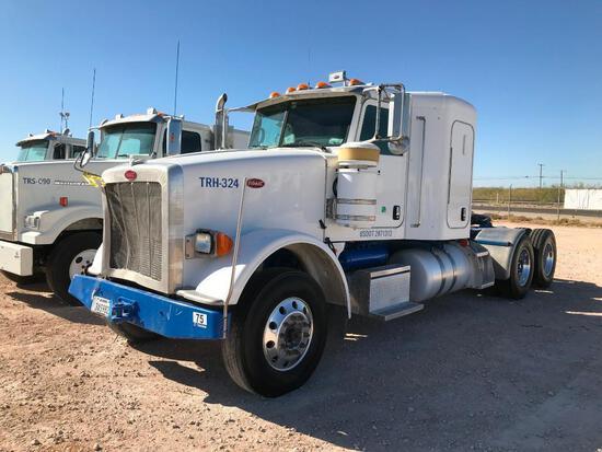 2012...Peterbilt 367 T/A Sleeper Hydraulic Truck Road Tractor (Unit #TRH-324) (INOPERABLE)