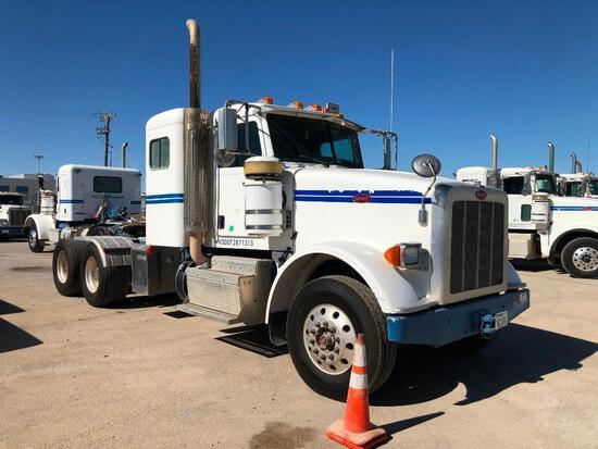 2012...Peterbilt 367 T/A Sleeper Hydraulic Truck Road Tractor (Unit #TRH-394)
