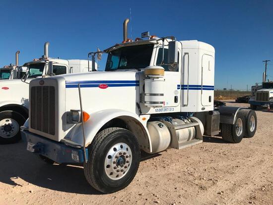 2011...Peterbilt 367 T/A Sleeper Hydraulic Truck Road Tractor (Unit #TRH-881)