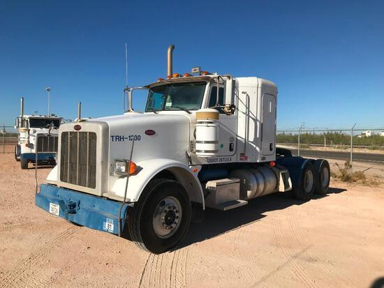2011...Peterbilt 367 T/A Sleeper Hydraulic Truck Road Tractor (Unit #TRH-1230)