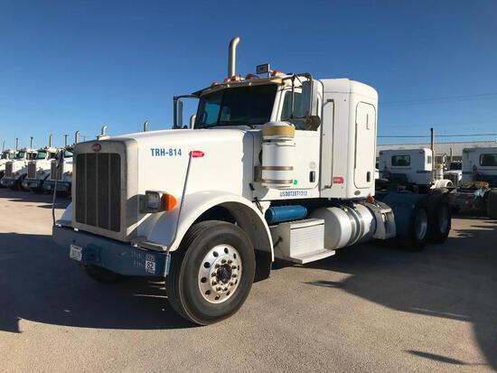 2011...Peterbilt 367 T/A Sleeper Hydraulic Truck Road Tractor (Unit #TRH-814)