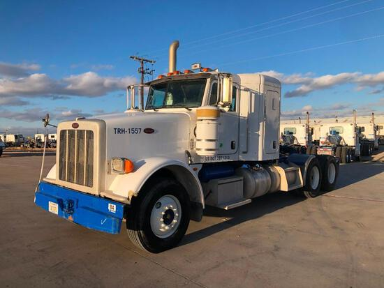 2008 Peterbilt 367 T/A Sleeper Hydraulic Truck Road Tractor (Unit #TRH-1557)
