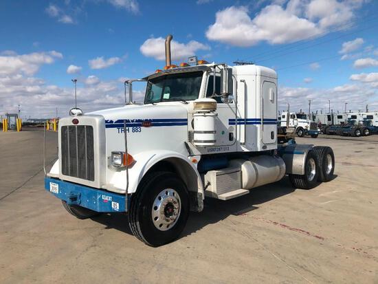 2011...Peterbilt 367 T/A Sleeper Hydraulic Truck Road Tractor (Unit #TRH-883)