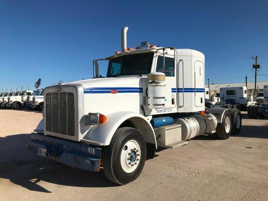 2008...Peterbilt 378 T/A Sleeper Hydraulic Truck Road Tractor (Unit #TRH-421)