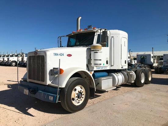 2008...Peterbilt 367 T/A Sleeper Hydraulic Truck Road Tractor (Unit #TRH-424)