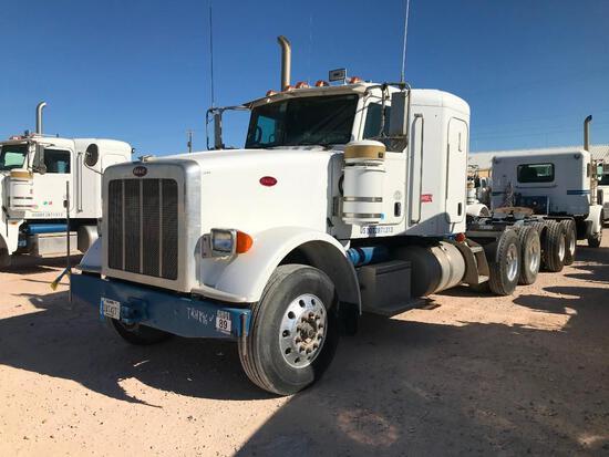 2013 Peterbilt 367 T/A Sleeper Hydraulic Truck Road Tractor...(Unit #TRH-896)