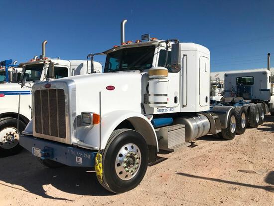 2012...Peterbilt 367 T/A Sleeper Hydraulic Truck Road Tractor (Unit #TRH-1755)