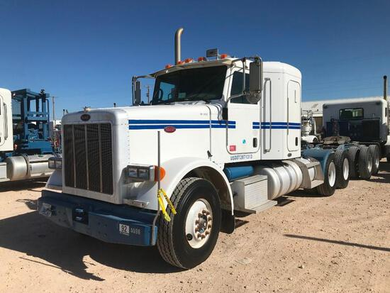 2007...Peterbilt 389 T/A Sleeper Hydraulic Truck Road Tractor (Unit #TRH-1403)