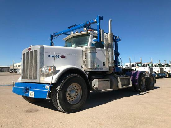 2015...Peterbilt 389 T/A Winch Truck Road Tractor (Unit #TRW-001)