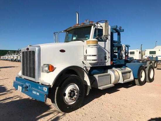 2013 Peterbilt 367 T/A Winch Truck Road Tractor (Unit #TRW-127)