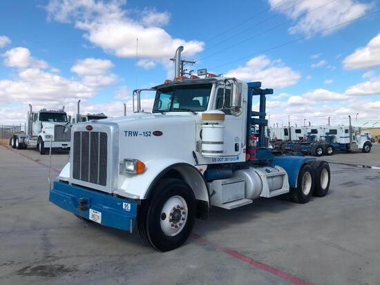2013 Peterbilt 367 T/A Winch Truck Road Tractor (Unit #TRW-152)