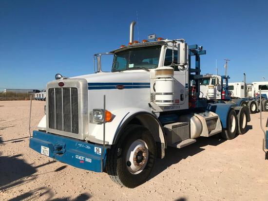 2013 Peterbilt 367 T/A Winch Truck Road Tractor (Unit #TRW-086)