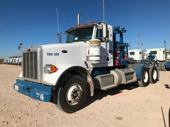 2013 Peterbilt 367 T/A Winch Truck Road Tractor (Unit #TRW-066)