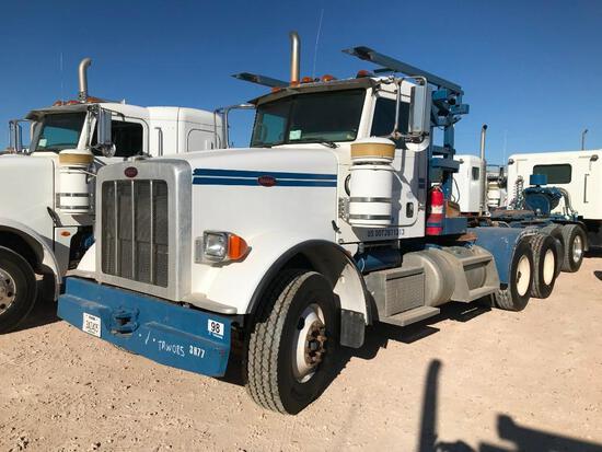 2013 Peterbilt 367 T/A Winch Truck Road Tractor (Unit #TRW-085)
