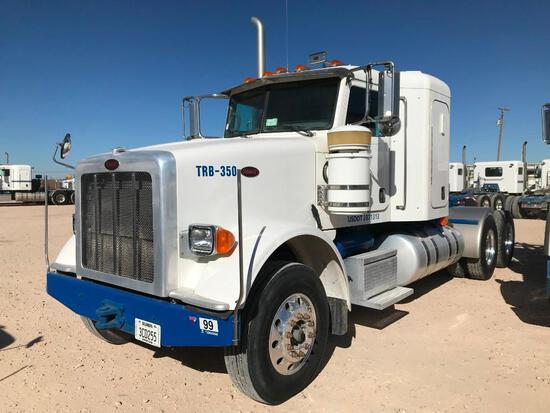 2013 Peterbilt 367 T/A Sleeper Compressor Truck Road Tractor (Unit #TRB-350)