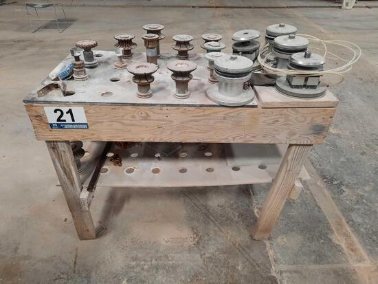 CNC TOOLING BITS & RACK