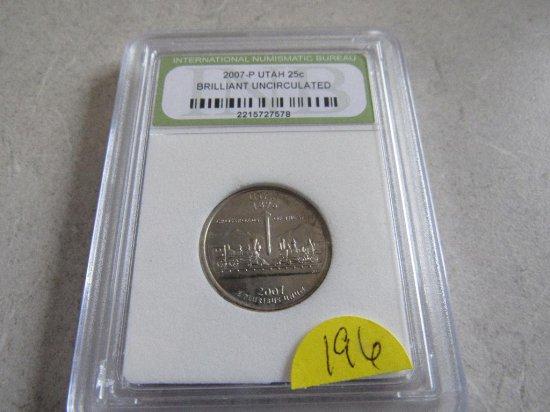 2007-P Utah Quarter