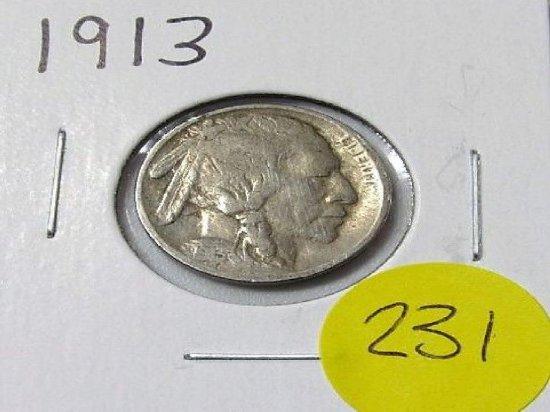 1913 Buffalo Nickels