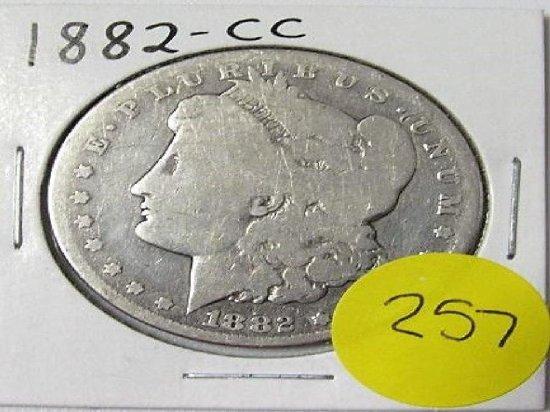 1882 CC Morgan Dollar