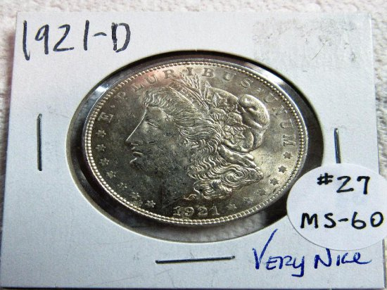 1921-D Morgan Dollar