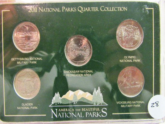 National Park Quarter Collect