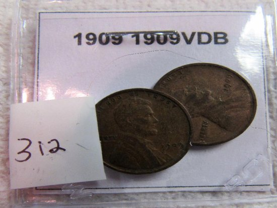 1909, 1909VDB Lincoln Cents
